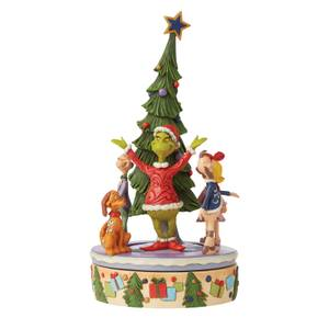 The Grinch By Jim Shore Grinch Rotator Figurine