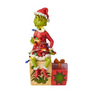 The Grinch By Jim Shore Grinch With Lights Figurine