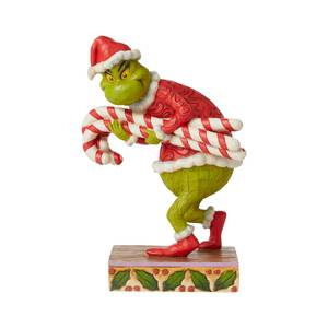 The Grinch By Jim Shore Grinch Stealing Candy Canes