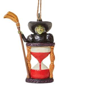 Wizard Of Oz By Jim Shore Wicked Witch Hourglass Hanging Ornament