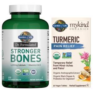 Garden of Life Muscles, Joints, & Aging Bones Bundle