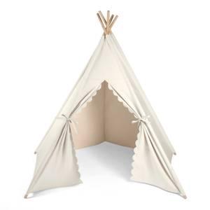 The Little Green Sheep Teepee Play Tent - Linen