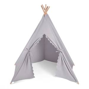 The Little Green Sheep Teepee Play Tent - Grey