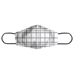 Tartan Thin Stripes Face Mask