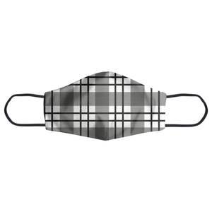 Tartan Checked Face Mask