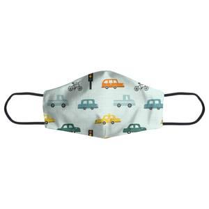 Traffic Pattern Face Mask