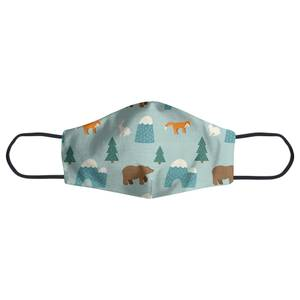 Forest Animals Face Mask