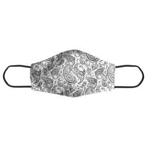 Layered Swirls Paisley Face Mask