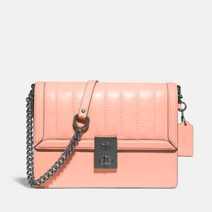 Coach Women's Exclusive Souffle Quilted Hutton Shoulder Bag - Faded Blush