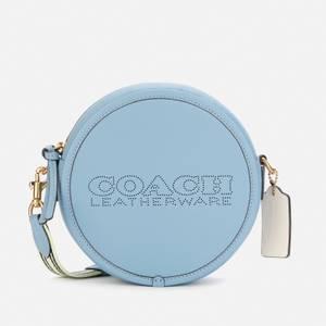 Coach Women's Colorblock Kia Circle Bag - Azure Multi
