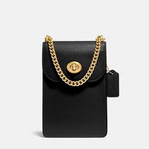 Coach Women's Liv Phone Cross Body Bag - Black
