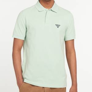 Barbour Beacon Men's Polo Shirt - Dusty Mint