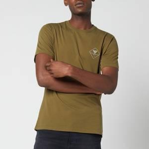 Barbour Beacon Men's Box Logo T-Shirt - Uniform Green