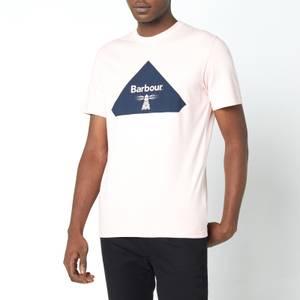 Barbour Beacon Men's Diamond T-Shirt - Antique Candy