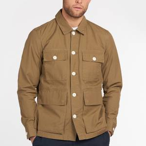 Barbour Men's Rowden Casual Jacket - Stone