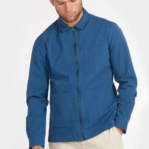 Barbour Men's Saltburn Overshirt - Ensign Blue