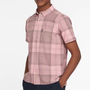 Barbour Men's Tartan 17 Short Sleeve Shirt - Faded Pink