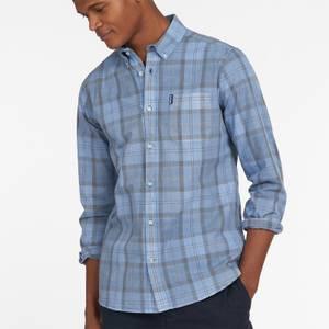 Barbour Men's Tartan 18 Long Sleeve Shirt - Pigment Blue
