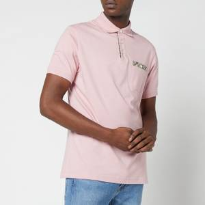 Barbour Men's Hirst Pocket Polo Shirt - Faded Pink