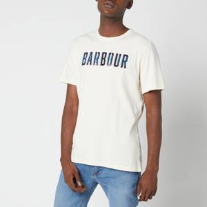 Barbour Men's Lomand Logo T-Shirt - Antique White