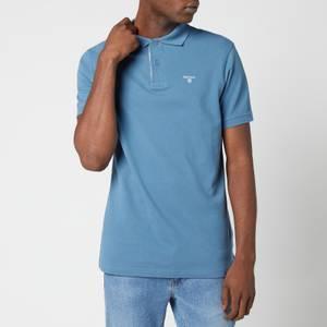 Barbour Men's Tartan Pique Polo Shirt - Pigment Blue