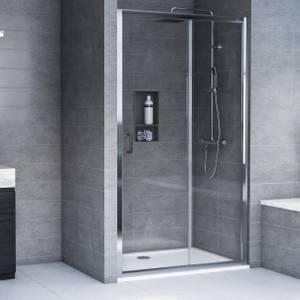Aqualux Edge6 Glass Sliding Door - 1600 x 1900 x 6mm