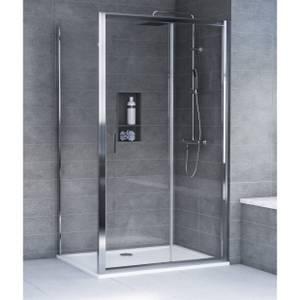 Aqualux KIT Edge8 Glass Sliding Door - 1400 x 2000 x 8mm