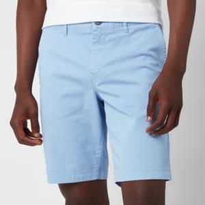 BOSS Casual Men's Slim Fit Shorts - Open Blue