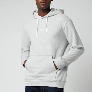 BOSS Casual Men's Weedo 2 Hoodie - Light Pastel Grey