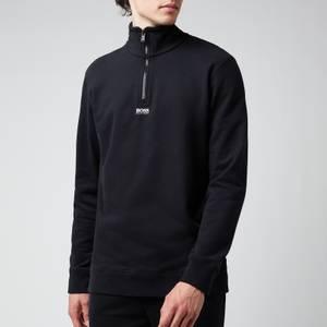 BOSS Casual Men's Zapper 2 Sweatshirt - Black