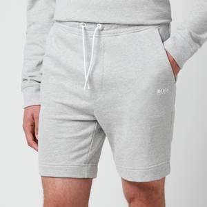 BOSS Casual Men's Skeevito Shorts - Light Pastel Grey