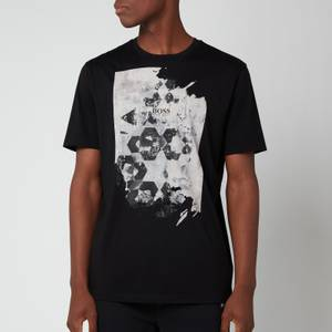 BOSS Casual Men's Tsummary T-Shirt - Black