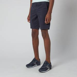 BOSS Casual Men's Slim Fit Shorts - Dark Blue