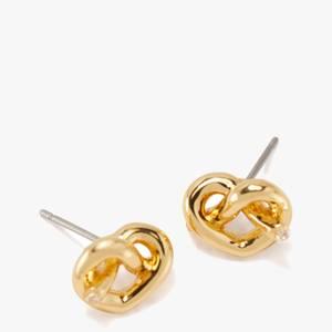 Kate Spade New York Women's Loves Me Knot Studs - Gold