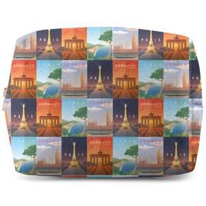 Travel Europe Makeup Bag