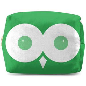 Green Owl Makeup Bag