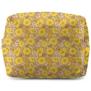 60s Wallpaper Makeup Bag