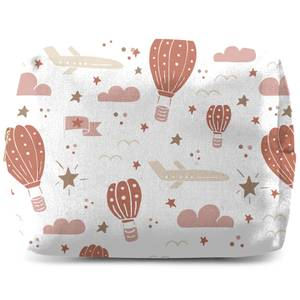 Earth Toned Kids Pattern Makeup Bag