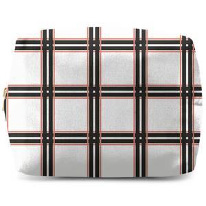 Tartan Modern Makeup Bag