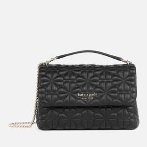 Kate Spade New York Women's Bloom Quilt Small Shoulder Bag - Black