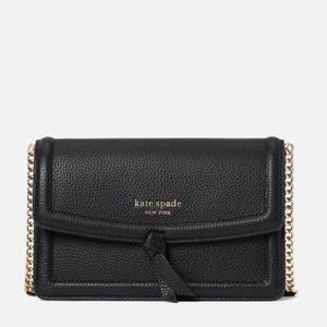 Kate Spade New York Women's Knott Flap Cross Body Bag - Black