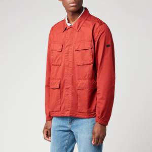Barbour International Men's Dion Casual Jacket - Clay Red