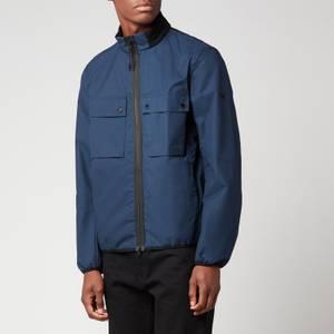 Barbour International Men's Belsfield Casual Jacket - Dress Blue