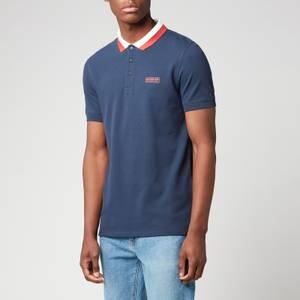 Barbour International Men's Ampere Polo Shirt - Dress Blues
