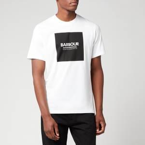 Barbour International Men's Block T-Shirt - White