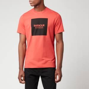 Barbour International Men's Block T-Shirt - Root Red