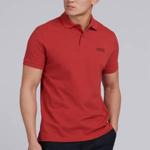 Barbour International Men's Essential Polo Shirt - Root Red
