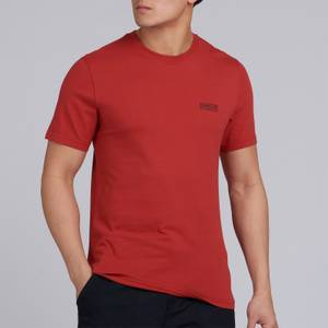 Barbour International Men's Small Logo T-Shirt - Root Red