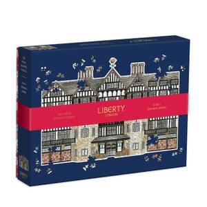 Liberty London Tudor Building 750 Piece Shaped Jigsaw Puzzle