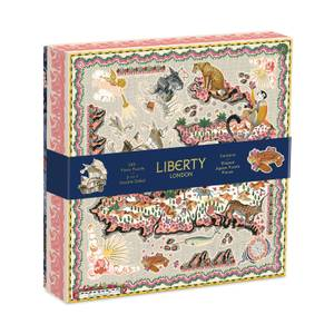 Liberty London Maxine Double Sided 500 Piece Jigsaw Puzzle